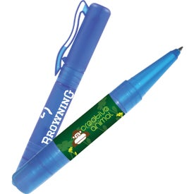 Sani-Mist Pocket Sprayer + Writing Pen Printed with Your Logo