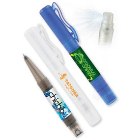 Sani-Mist Pocket Sprayer + Writing Pen (Full Color)