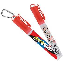 Sani-Mist Pocket Sprayer with Carabiner Giveaways