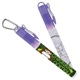 Sani-Mist Pocket Sprayer with Carabiner