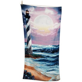 Printed Scenic Beach Towels