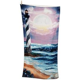 Printed Scenic Beach Towels