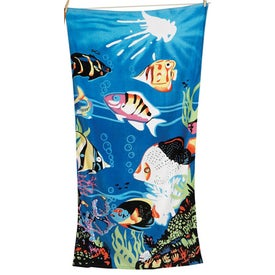 Promotional Scenic Beach Towels