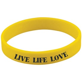 Imprinted Screened Wristband