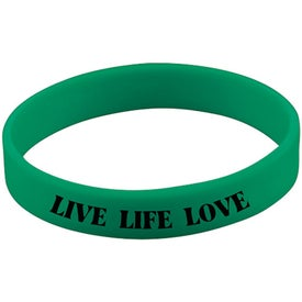 Customized Screened Wristband