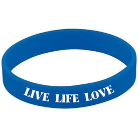 Screened Wristband for Marketing