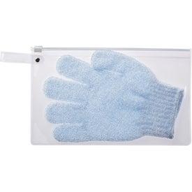 Scrub-A-Dub Bath Glove for Advertising