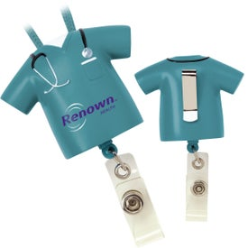 Scrubs Badge Pull Imprinted with Your Logo