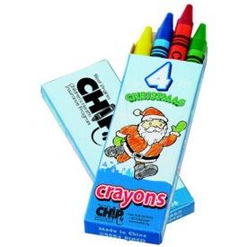 Seasons Greetings Crayon Pack (4 Count)