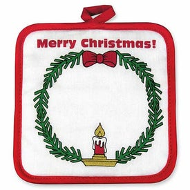 Season's Greetings Pot Holders for Promotion