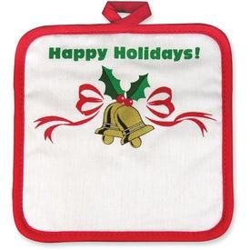 Season's Greetings Pot Holders for Customization