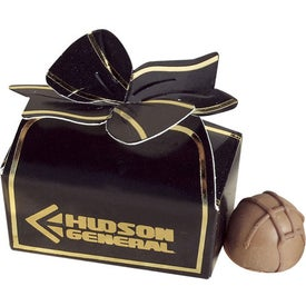 Seduction Bow Box with Truffles for Advertising