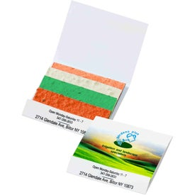 Seed Paper Matchbook - Color Stack Herb Patches