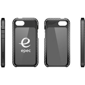 Seismik Suspension Frame Case for iPhone 5 with Your Slogan