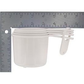Set of Four Measuring Cups for Advertising