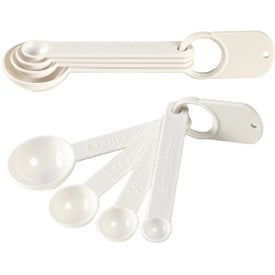 Monogrammed Set of Four Measuring Spoons