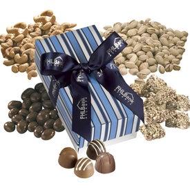 Customizable Seurat Gift Box with Fills