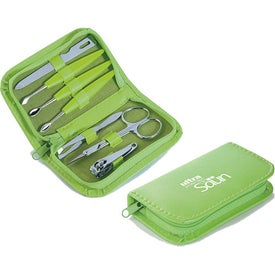 7 Piece Colorful Manicure Set for Promotion