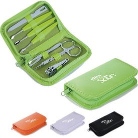 7 Piece Colorful Manicure Set