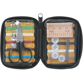 Monogrammed Sew Handy Deluxe Sewing Kit