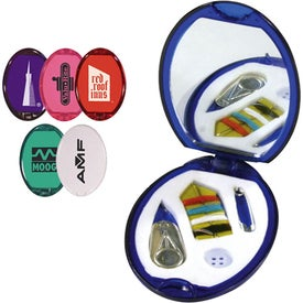 Colorful Sewing Kit with Mirror