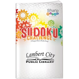 Sharp Minds Sudoku Challenge (26 Sheets)