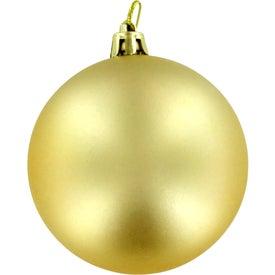 Custom Shatter Resistant Ornament