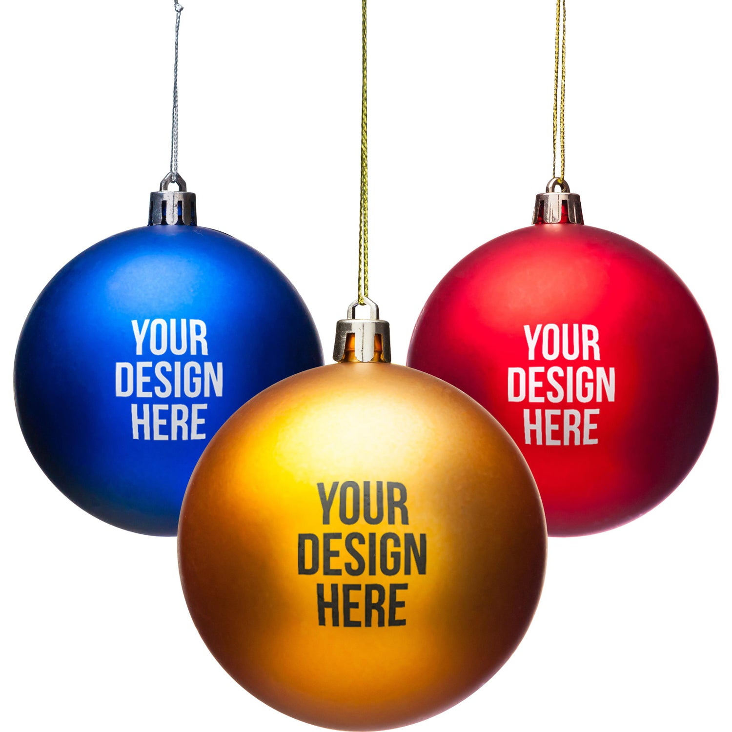 Promotional Shatter Resistant Ornaments with Custom Logo for $1.44 Ea.