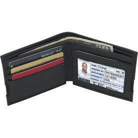 Branded Sheaffer Classic Bi-Fold Wallet