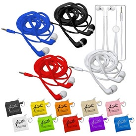 Shoelace Ear Buds for Your Organization