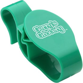 Shopping Cart Clip Printed with Your Logo