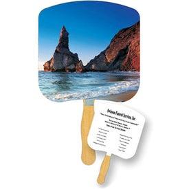 Shoreline at Daytime Inspirational Fan