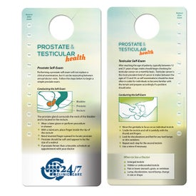 Prostate and Testicular Self-Exam Shower Card