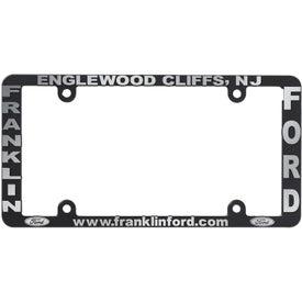 Side Imprint License Plate Frame (High Impact)