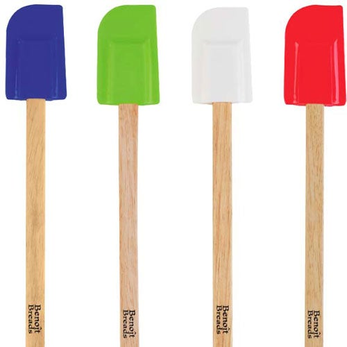 Silicone Spatula with Wooden Handle