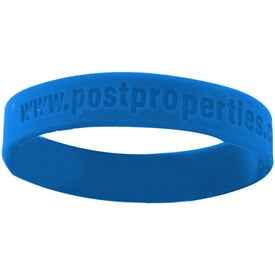 "Silicone Wristband (Unisex, 8"" x 0.5"", Debossed, No Quick Ship)"