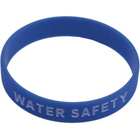 Silicone Awareness Bracelet with Your Slogan