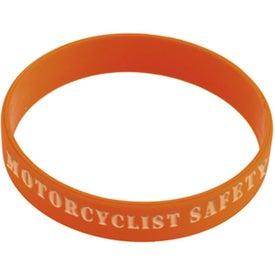 Branded Silicone Awareness Bracelet