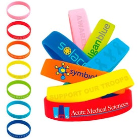 Company Silicone Awareness Bracelet