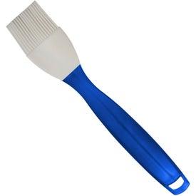 Logo Dishwasher Safe Silicone Basting Brush