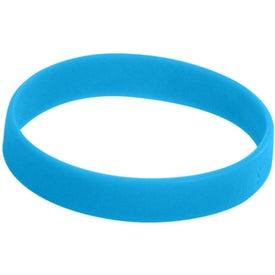 """Silicone Bracelet (Unisex, 0.5"""")"""