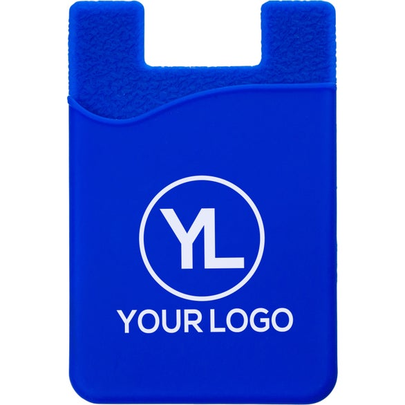 Royal Blue Silicone Cell Phone Sleeve