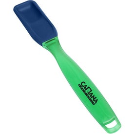 Silicone Condiment Spoon Branded with Your Logo