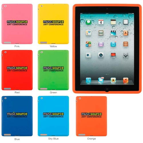 Silicone Case for iPad 2 without Cover