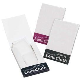 Branded Silicone Lens Cloth Pocket Pack