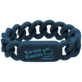 Personalized Silicone Link Wristband