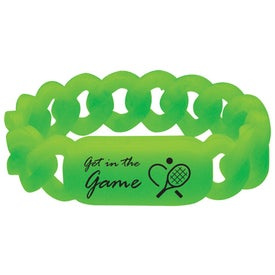 Silicone Link Wristband for Customization