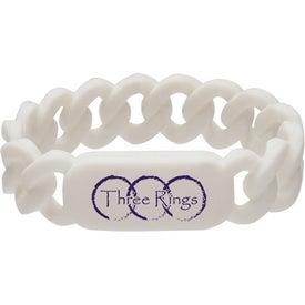 Company Silicone Link Wristband