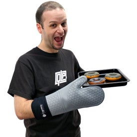 Silicone Oven Mitt Branded with Your Logo