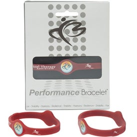 Silicone Performance Bracelet Branded with Your Logo